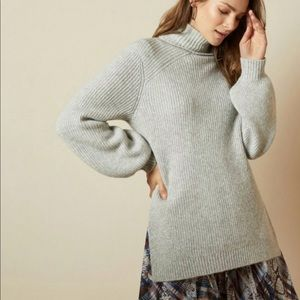 Ted Baker Sylinaa Chunky Wool Blend Turtleneck